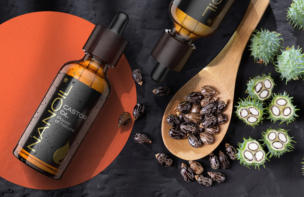 Nanoil Rizinusöl für Haare