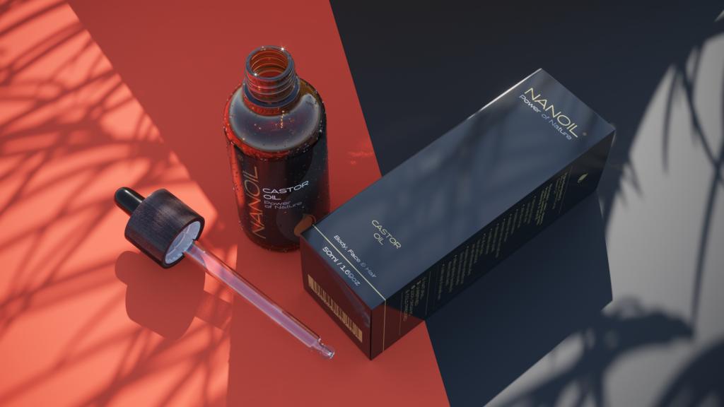 Nanoil Rizinusöl in der Pflege